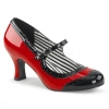 JENNA - 06 Red/Black Patent